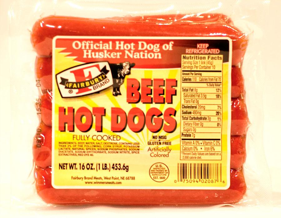Sabrett Hot Dog With Bun Calories