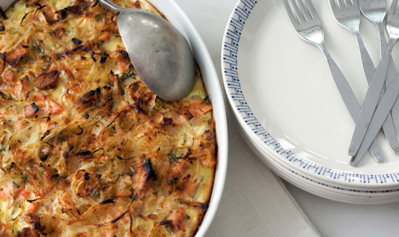 Egg-Casserole-With-Polish-Sausage